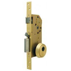 Cerradura Seguridad Embutir Palanca R201n 50mm Lt R200nt66t