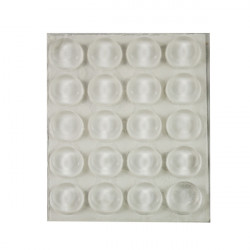 Lagrima Adhesiva Transp B 25pz 10x3 Mm