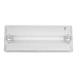 Luminaria Emergencia Fluor 6w 110x50x266