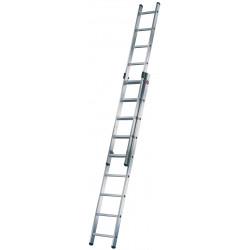 Escalera Industrial 2t 2x9 2,55/4,09m
