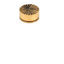 Embellecedor Lapidado Oro 16 Mm