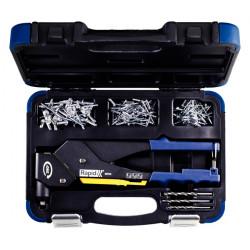 Remachadora Manual 360º+set 3,20-4,80