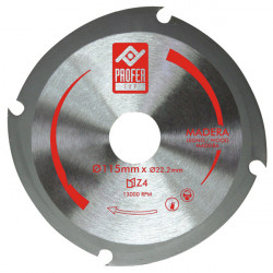 Disco Corte Madera Z-4 115x2 Mm
