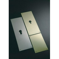 Placa Laton Mate Ciega B.28mm.300 80x80 E300/55