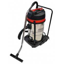Aspirador Inox Agua Polvo 80l 3000 W