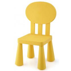Silla Infantil Amarilla 31x30x67