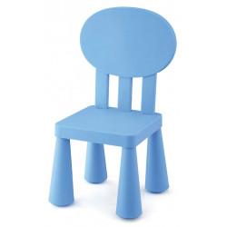 Silla Infantil Azul 31x30x67