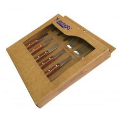 Chuletero+tenedor Madera Set-3