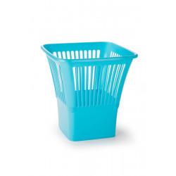 Papelera Cuadrada Azul 29x29x30cm