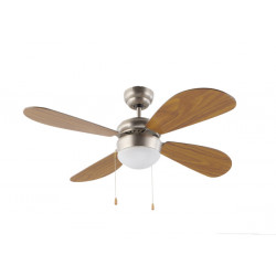 Ventilador Techo C/luz 4aspas 105cm 50 W