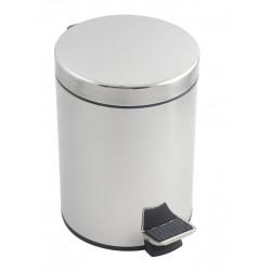 Cubo Pedal Inox 5 L