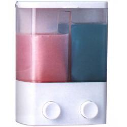 Dosificador Jabon 2 Depositos 14x8x18,5