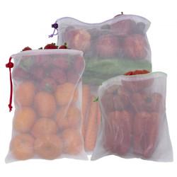Bolsa Polyest Fruta/verdura 6ud