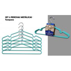 Percha Metal Antides. Set-5 Az