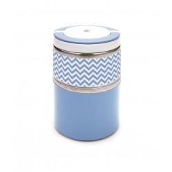 Termo Solido Inox Azul 0,9 L