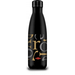 Botella Termo Inox Letras 500 Ml