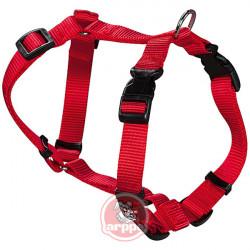 Arnes Perro Nylon Rojo 33-45 Cm