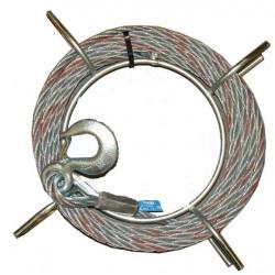 Cable Acero 11,5 Mm. E-20 Mt. Para T-13