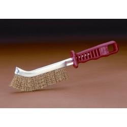 Cepillo Manual Acero Latonado M/plastico 1 Hilera Vip-1000f