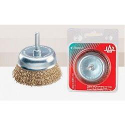 Cepillo Taza Acero Ltdo  75mm 0,3mm P/taladro Bte 9268 Blist