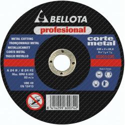 Disco Corte Metal Profesional Bellota 230x3x22 50301-230
