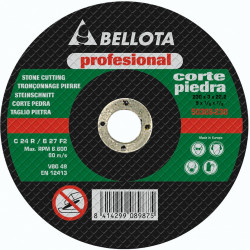 Disco Corte Piedra Profesional Bellota 230x3x22 50302-230