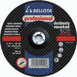 Disco Desbaste Metal Profesional Bellota 115x7x22 50335-115
