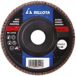 Disco Laminas Corindon Bellota 115 Mm Grano 40 50501-40
