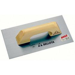 Llana Recta Acero 300x150mm Mango Madera 5861-1 Bellota