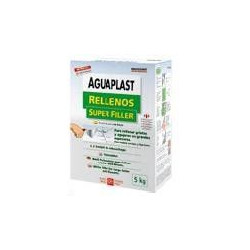 Plaste Aguaplast Rellenos Blanco Interior Estuche 1kg 1307