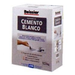 Cemento Blanco Polvo Inter/exte Beissier Estuche 1,5kg 619