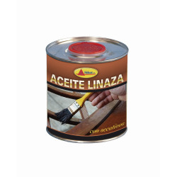 Aceite Linaza Cocido 375 Ml Aacc103 Promade