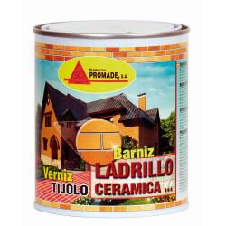 Barniz Ladrillo CerÁmica SintÉtico 4 Lt Afex106 Promade