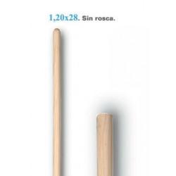 Mango 1,20x28 Sin Rosca 60005
