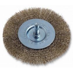 Cepillo Circular Acero Latonado 50mm P/taladro 469.00 Codiv