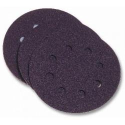 Disco Lija Velcro Papel Perforado 125mm Gra 80 10pz P/lijad