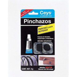Reparador De Pinchazos 5ml.+parches 505016 Ceys