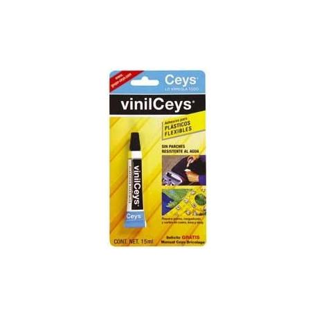 Pegamento Reparador Plasticos Flexibles 15ml.vinilceys 501028