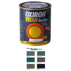 Esmalte P/metal Forja Negro 750ml Oxiron Titan 0200204134