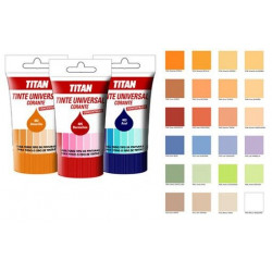 Tinte Universal Concentrado Titan Rojo  50ml 089040650
