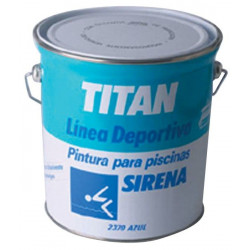 Pintura Piscinas Acril Al Disolven Azul 4lt Sirena 180237004