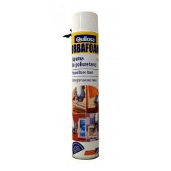 Espuma Poliuretano Spray 500 Ml. Orbafoam 60285