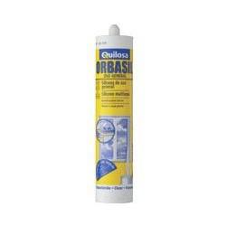 Silicona Acida Blanca Cartucho 300ml Orbasil K-86 61853