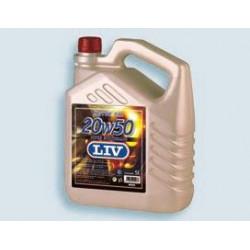 Aceite Motor Gas. 5lt 20w Sae 50s 5 Lt Liv