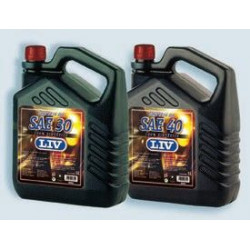 Aceite Motor Diesel 5lt 15w Sae 40s 5 Lt Liv