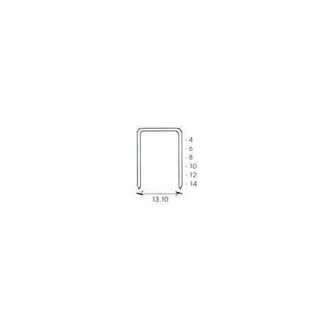 Grapa Para Esco 58/4 Caja De 5000 Pzas.4001