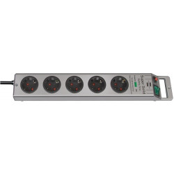 Regleta De Enchufe Super Solid 16 A 250 V Enchufes 5 2,5 M H