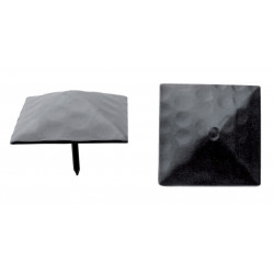 Clavo Piramide Negro 25mm.73325