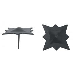 Clavo Estrella Negro 35mm.73435