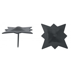 Clavo Estrella Negro 40mm.73440